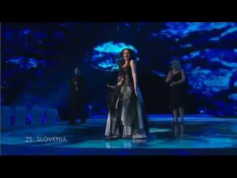 Eurovision 2007 Semi-Final 25 - Alenka Gotar - Cvet z juga - Slovenia