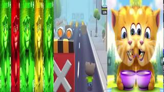 Colors for Children To Learn My Talking Tom and Friends Funny Animation for Kids