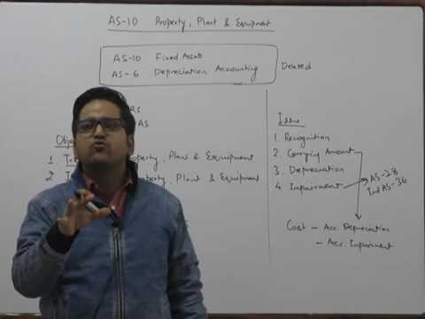 New AS 10 - Property, Plant and Equipment | Accounting Amendment by CA Raj K Agrawal for May/June 17