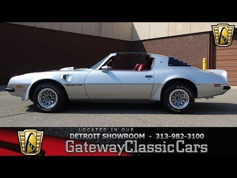 1975 Pontiac Trans Am Stock # 1040-DET