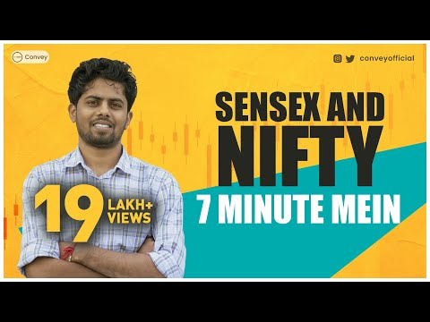 What are Sensex and Nifty (in Hindi)