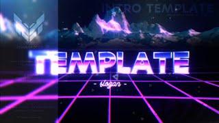 Panzoid Vaporwave Intro Template