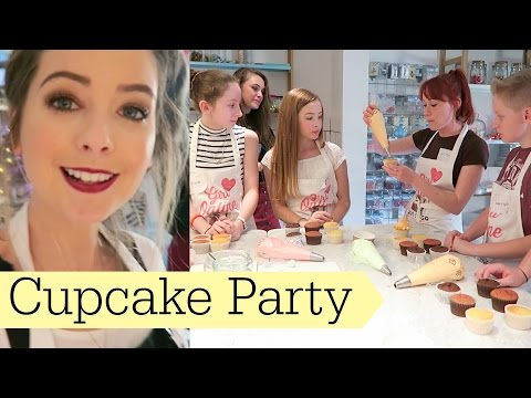 Save Cupcake Decorating Party Snapshots