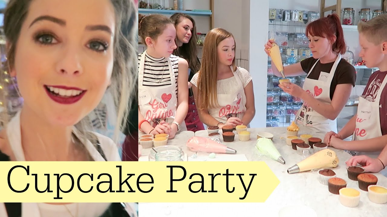 cupcake decorating party youtube - Cupcake Decorating Party