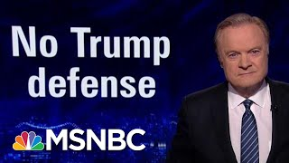 No Defense Of Trump From Republicans In Released Impeachment Depositions | The Last Word | MSNBC