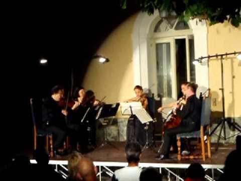 Von Weber – Quintetto per archi e clarinetto Op.34 – 1o movimento