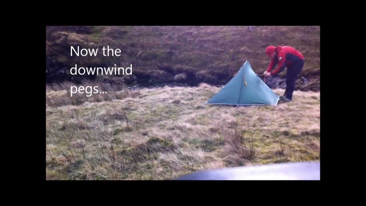 & Pitching the Macpac Microlight 2 tent - YouTube
