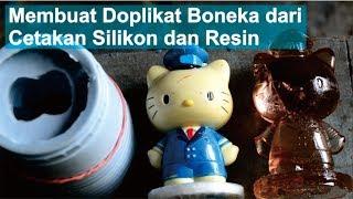 Membuat Doplikat Boneka dari Cetakan Silikon dan Resin | Mold Making & Casting Tutorial