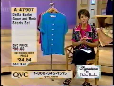 Delta Burke On QVC  Brief Appearance  2000