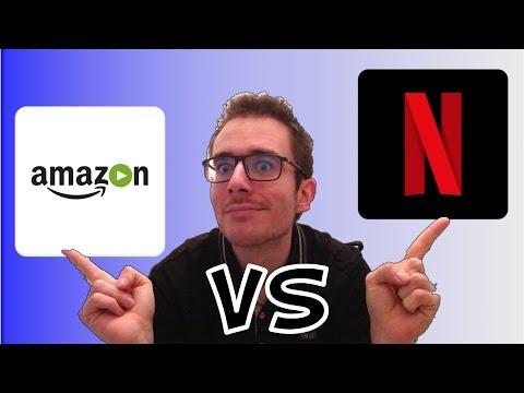 AMAZON PRIME VIDEO VS NETFLIX TEST  AVIS