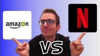 AMAZON PRIME VIDEO VS NETFLIX [TEST + AVIS]