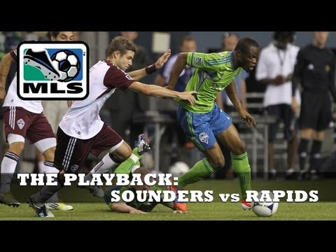 EXTENDED HIGHLIGHTS: Seattle Sounders vs Colorado Rapids, July 7, 2012