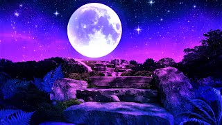Peaceful Night Deep Sleep 528hz Calm Gentle Sleeping Healing Relaxing