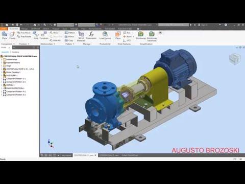 Inventor Centrifugal Pump 01 - 08