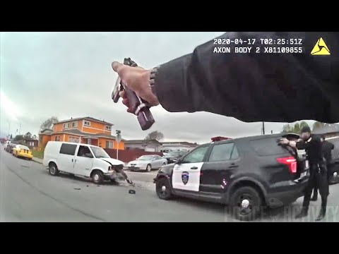 Bodycam Footage Of Police Shooting Kidnapping Suspect in Richmond, California