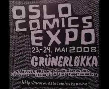 Oslo Comics Expo 2008 Flyer 1
