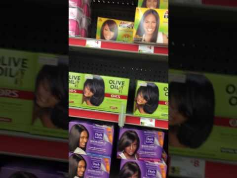 Natural Hair Products in Family Dollar