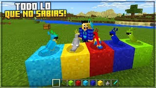 TODO LO QUE NO SABIAS SOBRE LOS LOROS! ● COMO DOMESTICAR LOROS - Minecraft PE 1.2