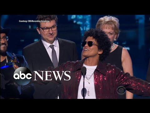 Kendrick Lamar, Bruno Mars win big at 2018 Grammys
