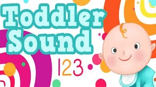 Toddler Sound 123 - Flashcards for baby to touch and play By GiggleUp Kids Apps