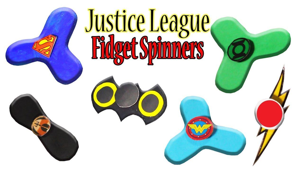 Aquaman Justice League Fidget  Spinner Toy