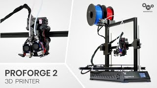 Proforge 2 3D Printer and Dual Switching Extruder