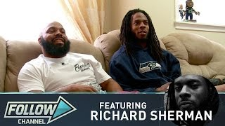 Richard Sherman Watches Sunday NFL Games