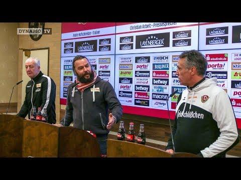 17. Spieltag | FCU - SGD | Pressekonferenz nach dem Spiel
