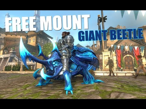 Neverwinter - How To Get FREE Mount The Blue Glazed Giant Beetle