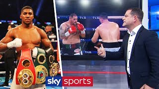 Spencer Oliver analyses HOW Andy Ruiz can beat Anthony Joshua