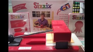 Sizzix Orginal Red Die Cutting Machine-Review-Blast from the Past