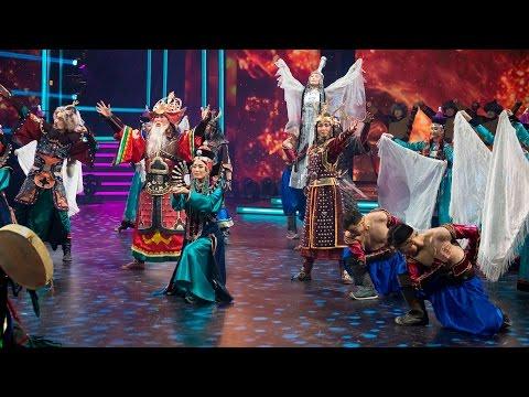 Видео, Танцуют все. Бурятский национальный театр песни и танца Байкал