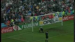 Česko - Francie 0:0, 6:5 pen. / Czech republic - France 0:0, 6:5 AP - Semifinále EURO 1996