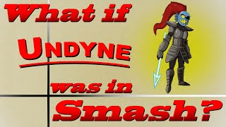 What If Undyne Was In Smash? (Moveset Ideas: 30)