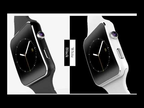 FLOVEME E6 Smart Watch On Wrist Bluetooth Wrist Watch For Android For Samsung Huawei Sony English