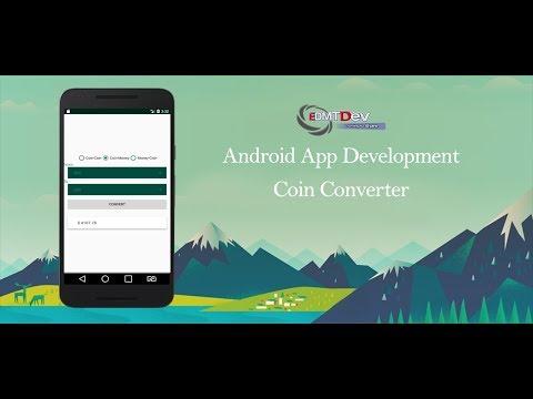 Android Studio Tutorial - Coin Converter Application