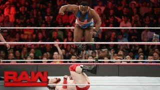 Big E vs. Sheamus: Raw, 17. Oktober 2016