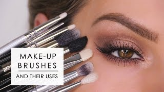 Makeup Brushes & How To Use Them - Eyes | Shonagh Scott