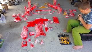 ЗАЗ 966 подвеска после порошковой покраски