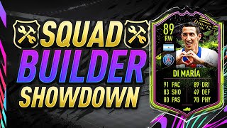 FIFA 21 SQUAD BUILDER SHOWDOWN! RB DI MARIA! FIFA 21 ULTIMATE TEAM