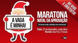 Baixar Maratona Natal da Aprovação | Os Temas mais Cobrados em Concurso!