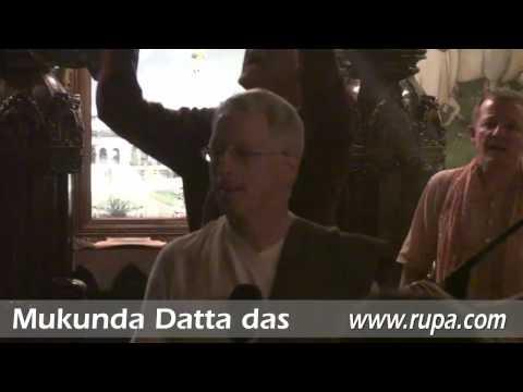 Gaura Purnima - Kirtan - Greeting of the Deities - Mukunda Datta das