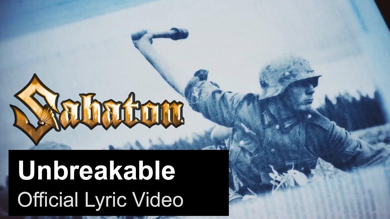 SABATON - Unbreakable (Official Lyric Video)