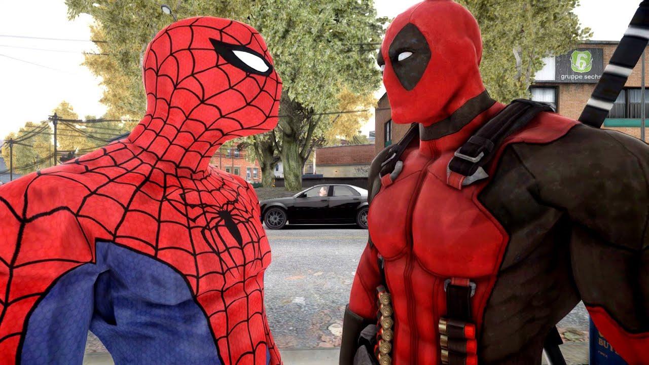 Spiderman VS Deadpool