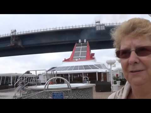 Braemar's passage through the Kiel Canal Part 11