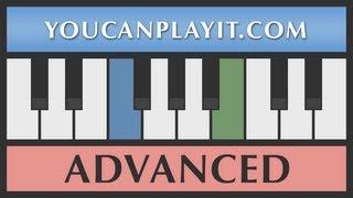 Bach - Solo per il cembalo BWV Anh 129 [Advanced Piano Tutorial]