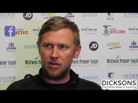 CaleyJagsTV : Richie Foran Match Preview v Hamilton Accies : 04/05/17