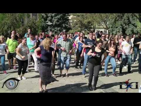 Rueda de Casino Flash Mob Nap, Szeged 2017