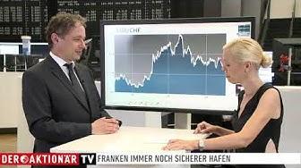 Schweiz - starke Währung - bald Parität zum Euro?