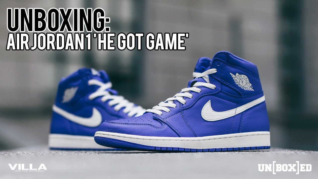 1fa11fddd0d6c2 UNBOXED  HE GOT GAME OG 1 HIGH ON FOOT LOOK EP. 26 - YouTube